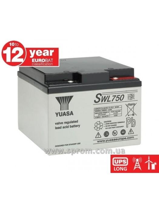 Аккумулятор Yuasa SWL 750 ... 4250. Герметизированный необслуживаемый свинцово-кислотный