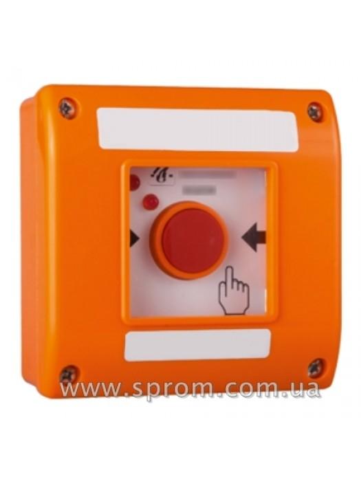 Кнопка ручная для дымоудаления SP-OD1-O (оранжевая)