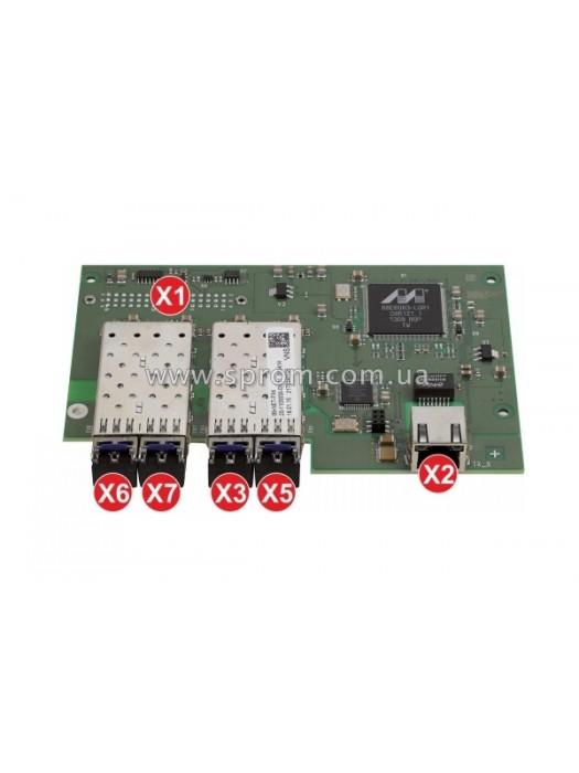 Модуль сетевой B9-NET-FX4 (1xLAN, 2xFXМ)