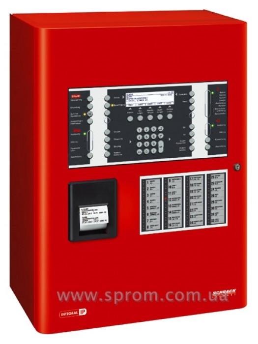 Станция Integral IP MX с ПУ, принтером и панелью индикации на 4 зоны пожаротушения (B5-SCU-CP4L)