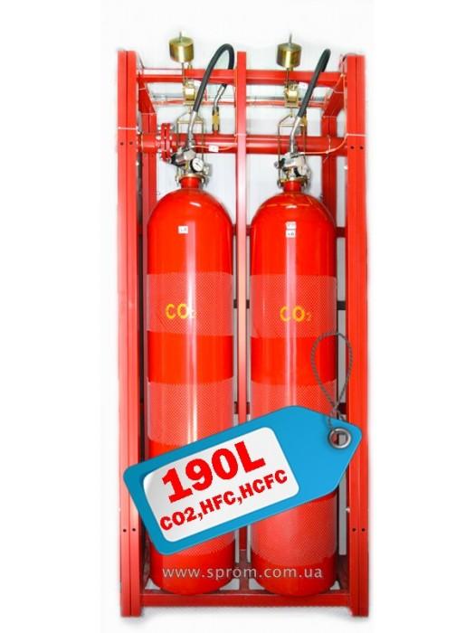 Модуль газового пожаротушения МГП-190