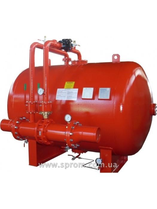 Бак-дозатор для пенообразователя от 1000 до 20000 л (горизонтальная система MXC-H-I)