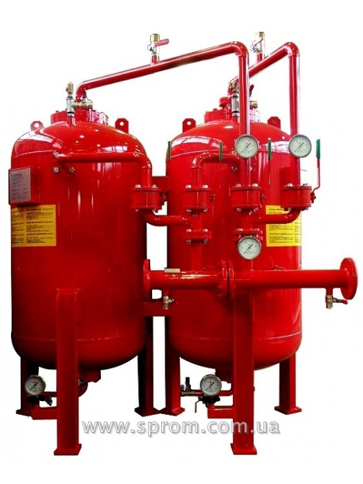 Бак-дозатор для пенообразователя от 1000 до 15000 л (вертикальная система MXC-I-2Х)