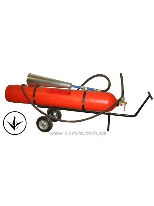 Огнетушитель углекислотный передвижной ВВК-28