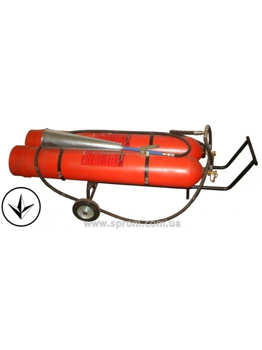 Огнетушитель углекислотный передвижной ВВК-56